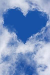 Srdce mezi mraky