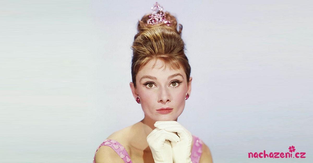 Audrey Hepburn jako princezna. Jak nezaujmout muže?