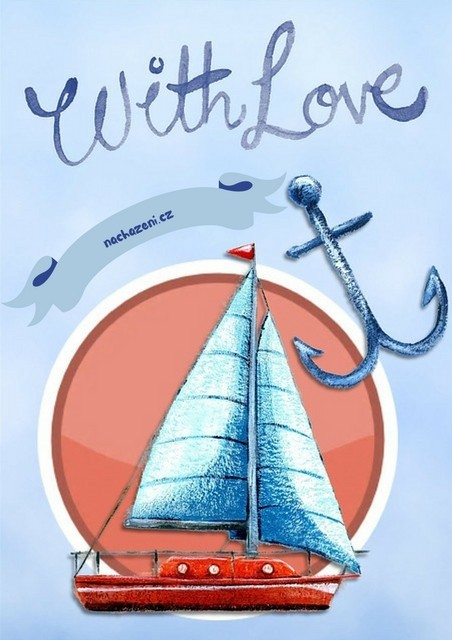 Kotva vděčnosti a plachetnice - jak se nerozčilovat