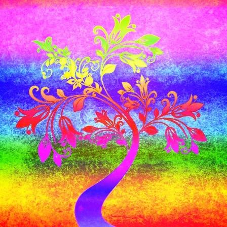 Strom života připomíná, že je potřeba pečovat o kořeny, abychom dostali květy.