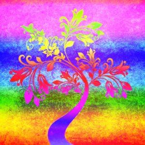 Strom života připomíná, že je potřeba pečovat okořeny, abychom dostali květy.